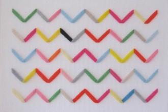 Waves // Jane Denton Textile Art