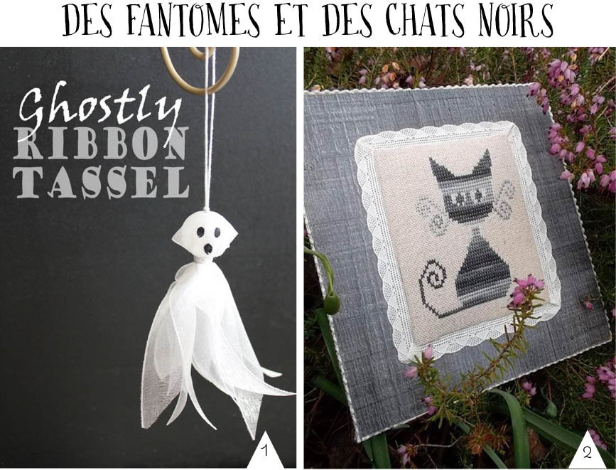 chat noir fantome halloween