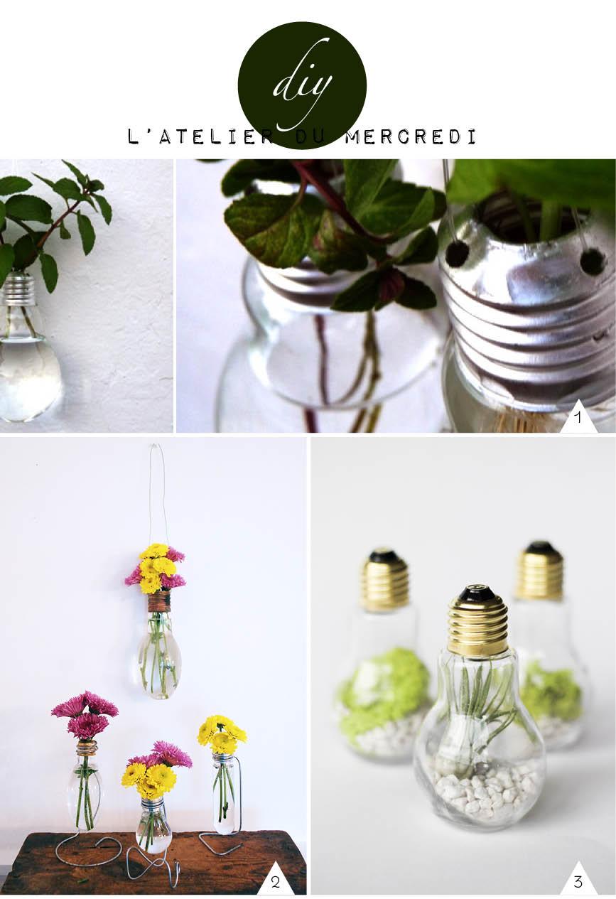 diy ampoule vase