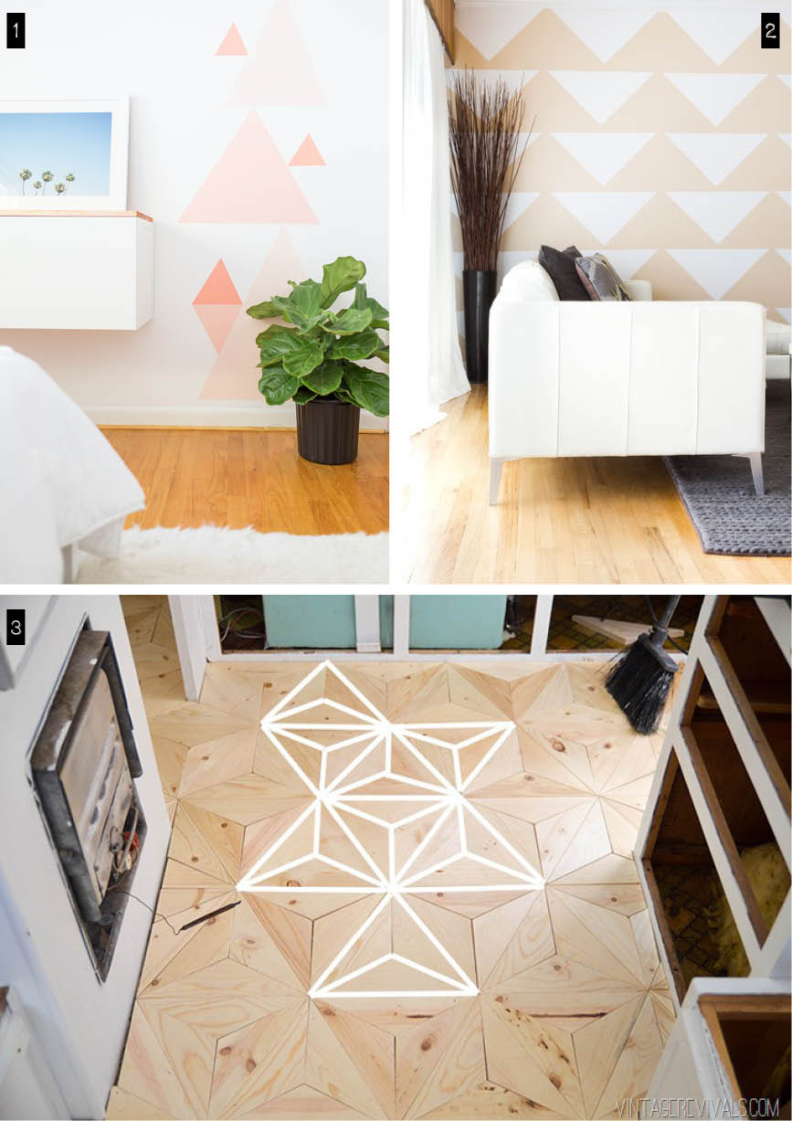 diy deco triangle