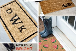 DIY Doormat // customiser son paillasson