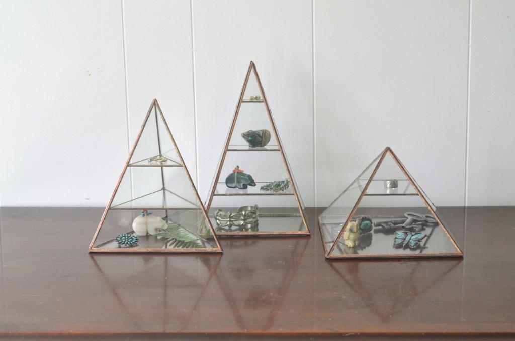 Lyra Pyramid Display Box // ABJglasswoks