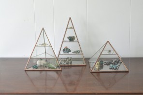 Lyra Pyramid Display Box // ABJglasswoks