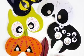 printable-halloween-masks // MR PRINTABLES