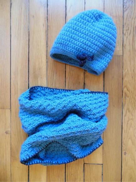 bonnet bleu vicky ann
