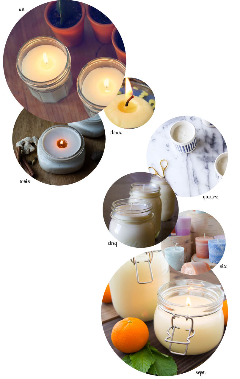 diy bougie parfumée // Scented candles
