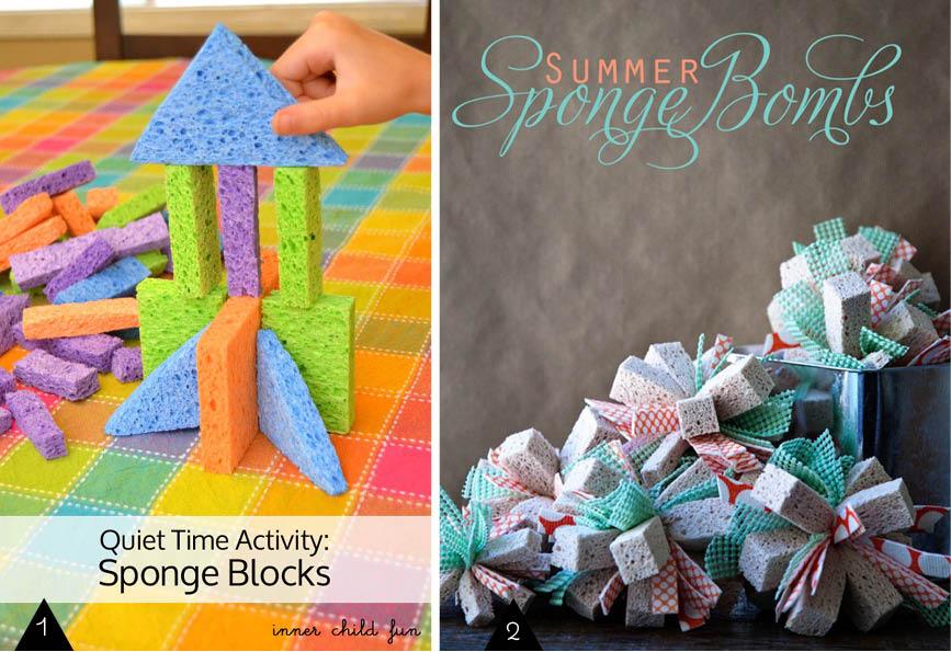 DIY Sponge Projects // Que faire avec des éponges ?