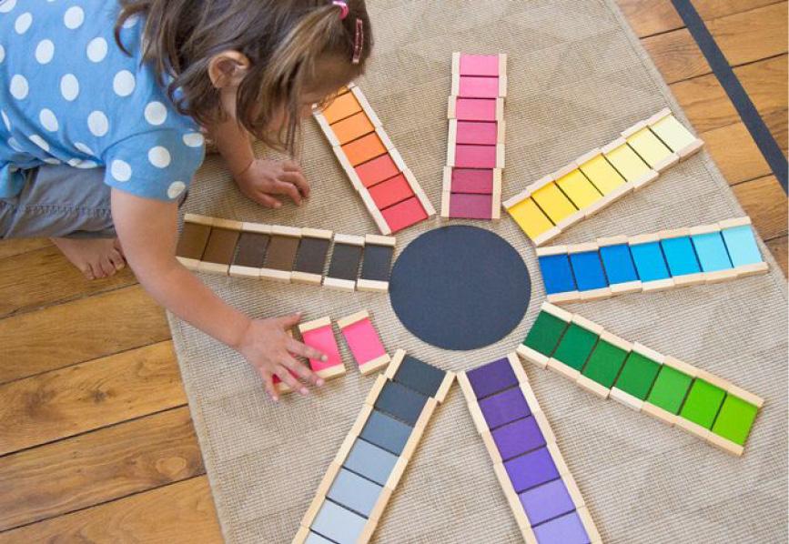 Matériel Montessori Graine à grandir