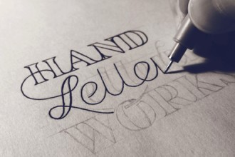 Hand Lettering Process by Sean McCabe