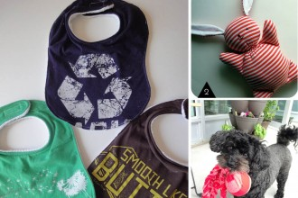 DIY : recycler ses tee-hirts // Creatives ways to recycle t-shirts