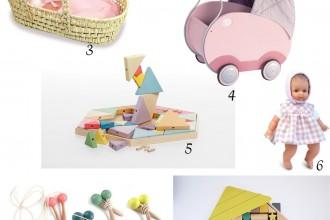 Sélection de Noël : 10 jouets pastel