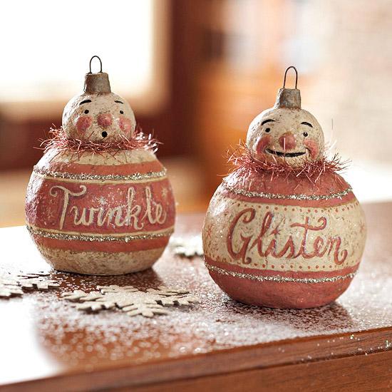 Make a 19th-Century-Inspired Ornament // BHG
