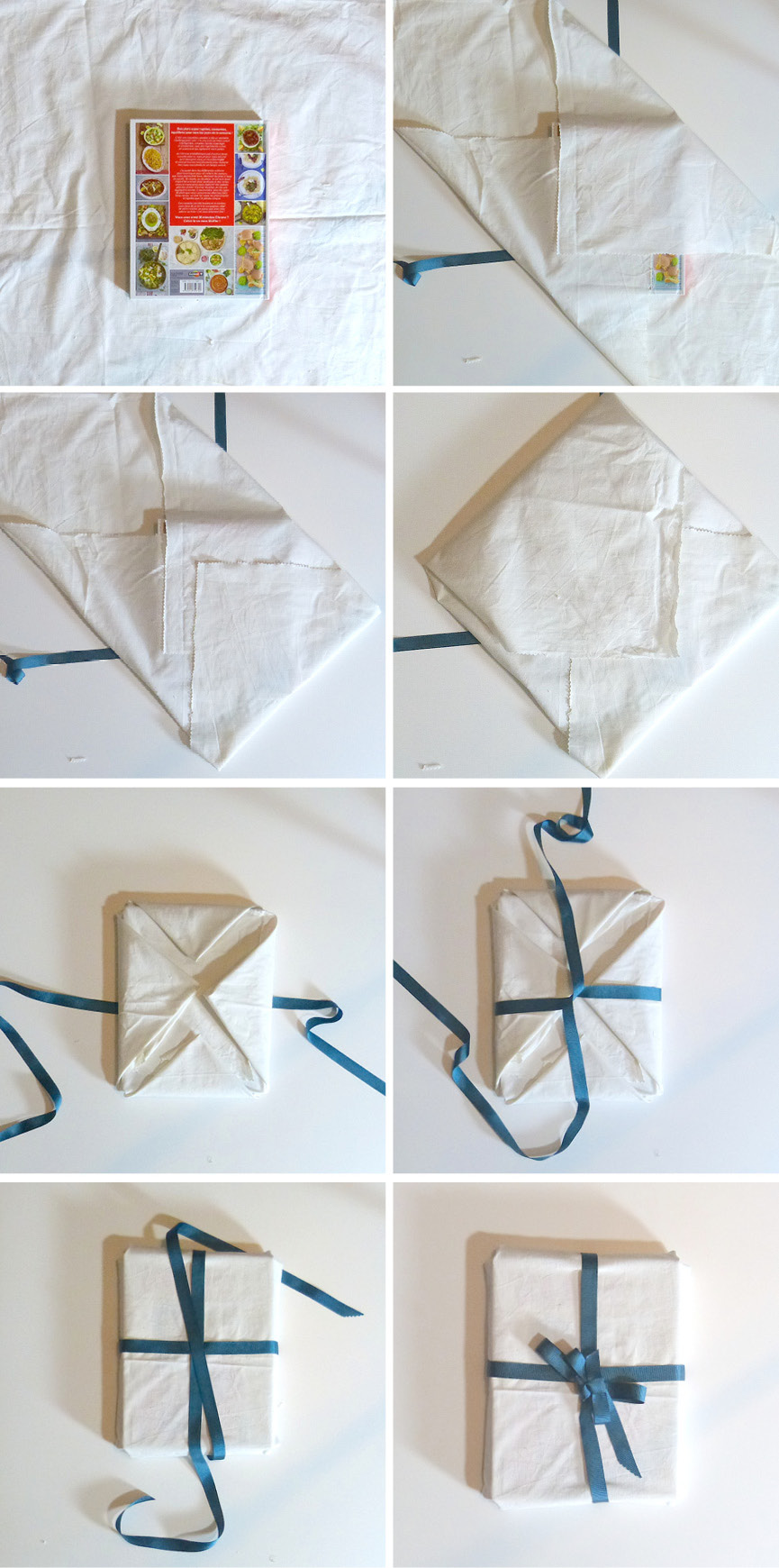 Furoshiki wrapping techniques