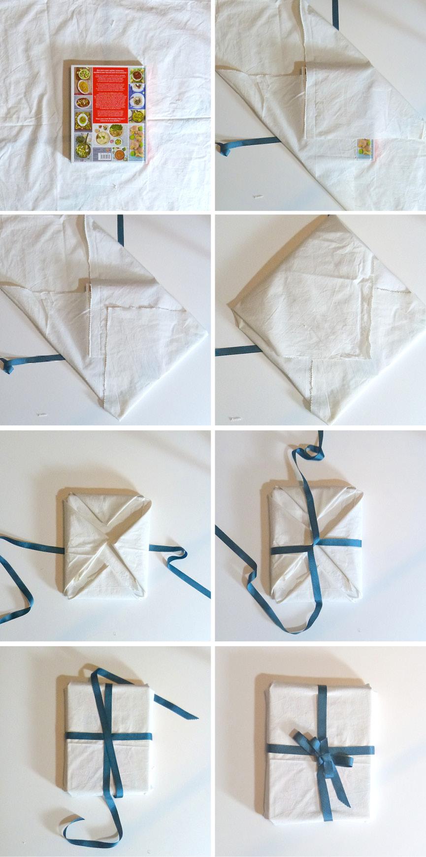 Furoshiki wrapping techniques