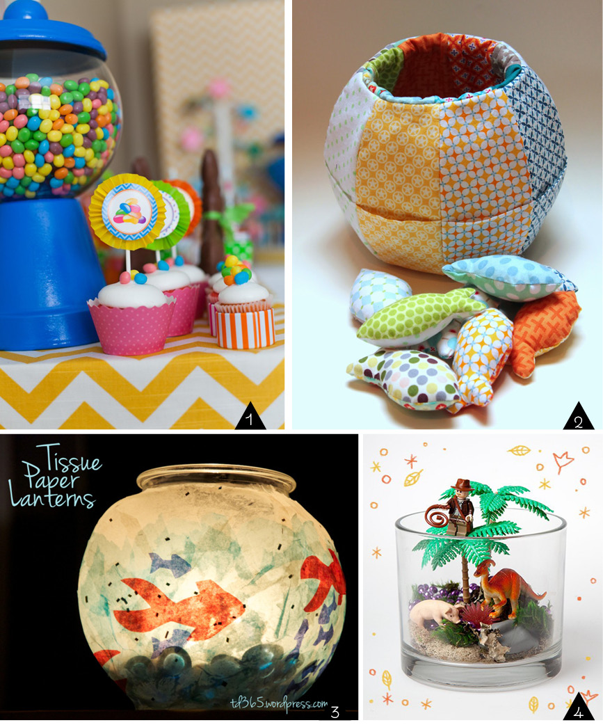 Upcycled Fish Bowls : Crafts for kids