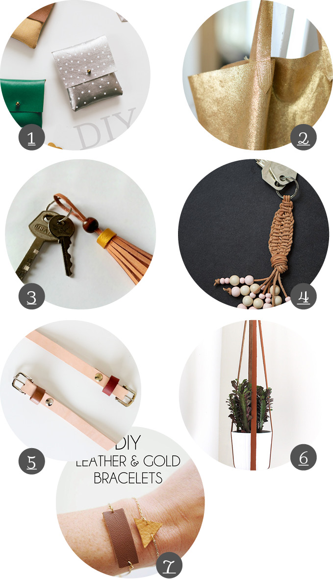 DIY Leather Crafts
