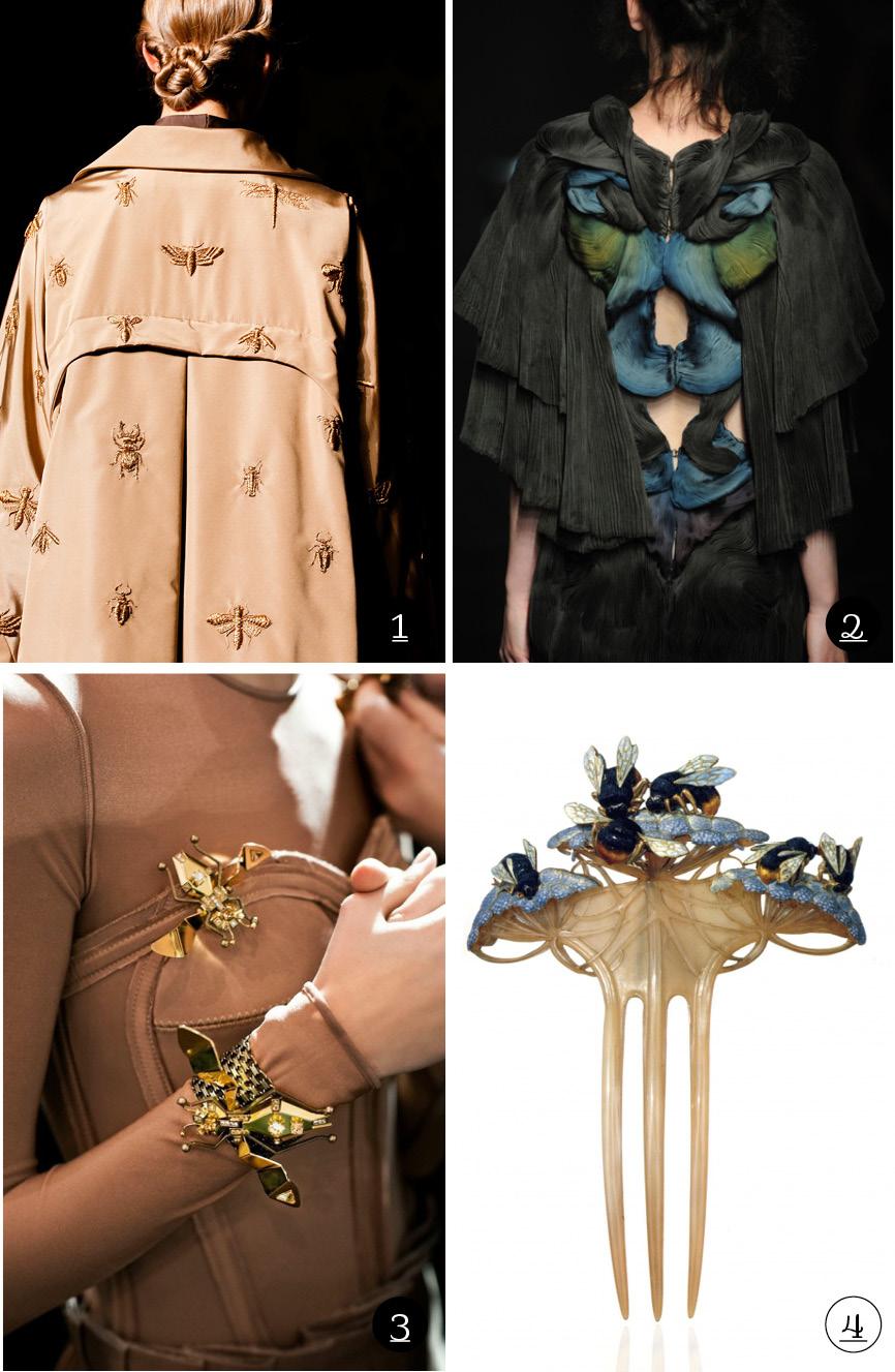 Les insectes dans la mode