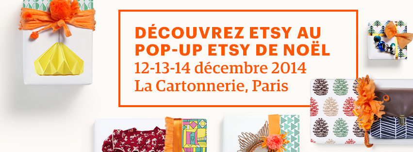 pop up etsy marche noel