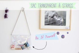 sac-transparent-DIY // Une touche de rose