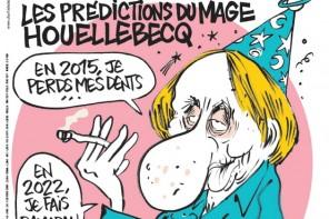 Charlie hebdo les prédictions du mage Houellebecq