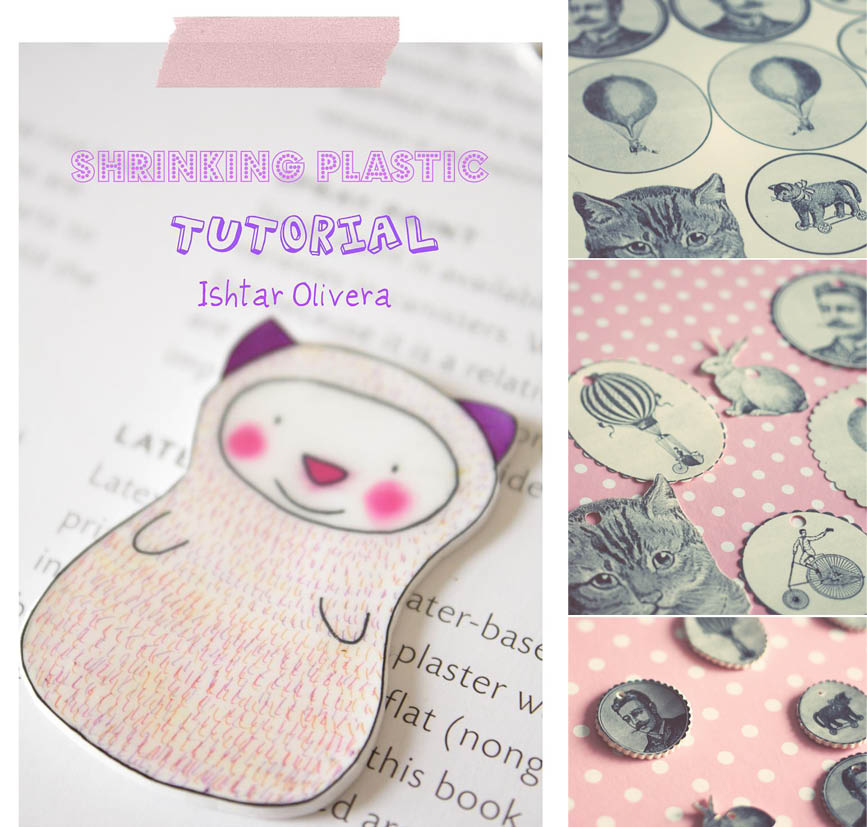 DIY Shrinkle Plastic Charms