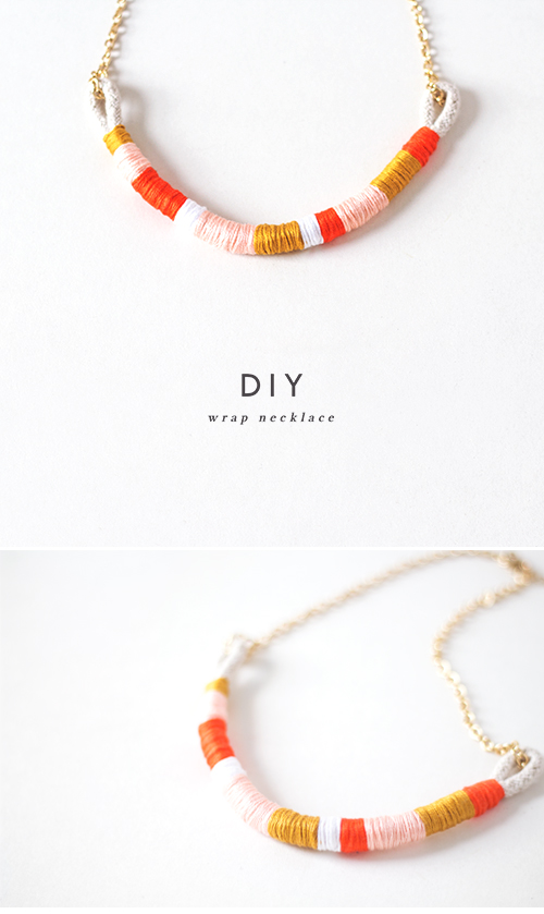 EASIEST NECKLACE EVER // The lovely drawer