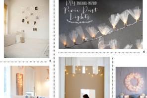 Inspiration fairy lights