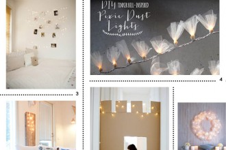 Inspiration fairy lights