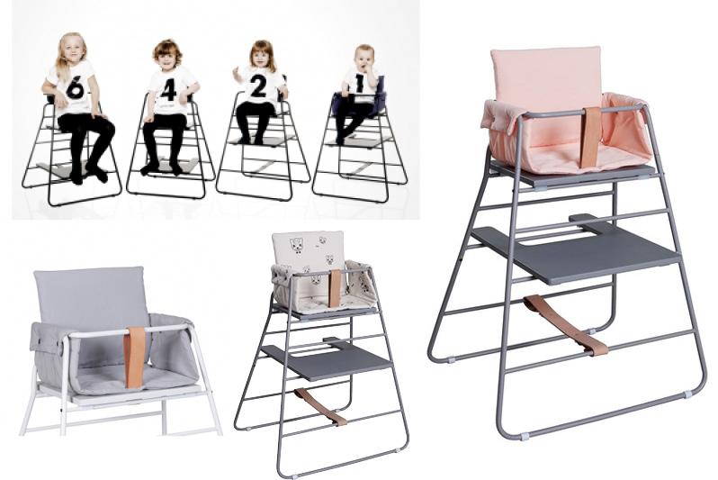 La chaise haute towerchair for Chaise qui s accroche a la table
