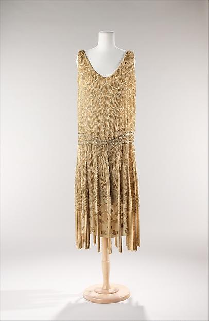 Edward Molyneux - 1925 // Brooklyn Museum Costume