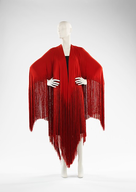 Evening shawl // Madeleine Vionnet - 1925 // Met Museum