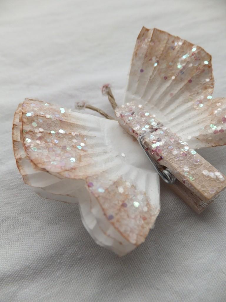 Cupcake Liner Butterflies // Art is medecine