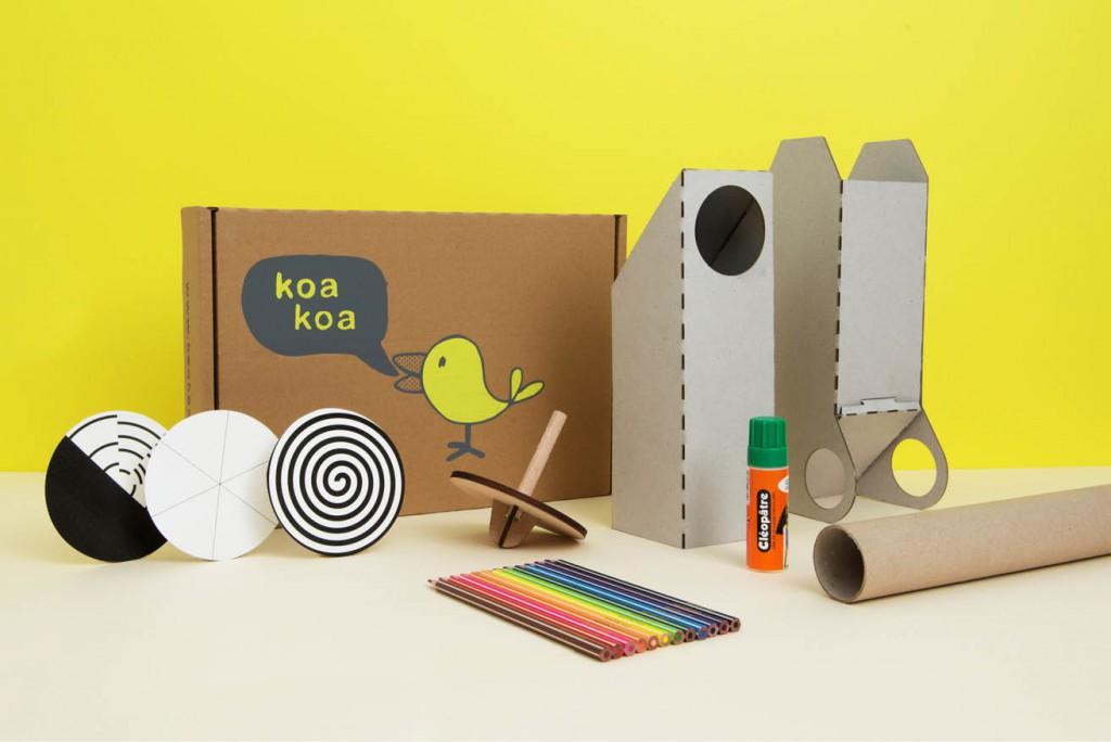 Les boîtes d'activité Koa Koa // L'optique