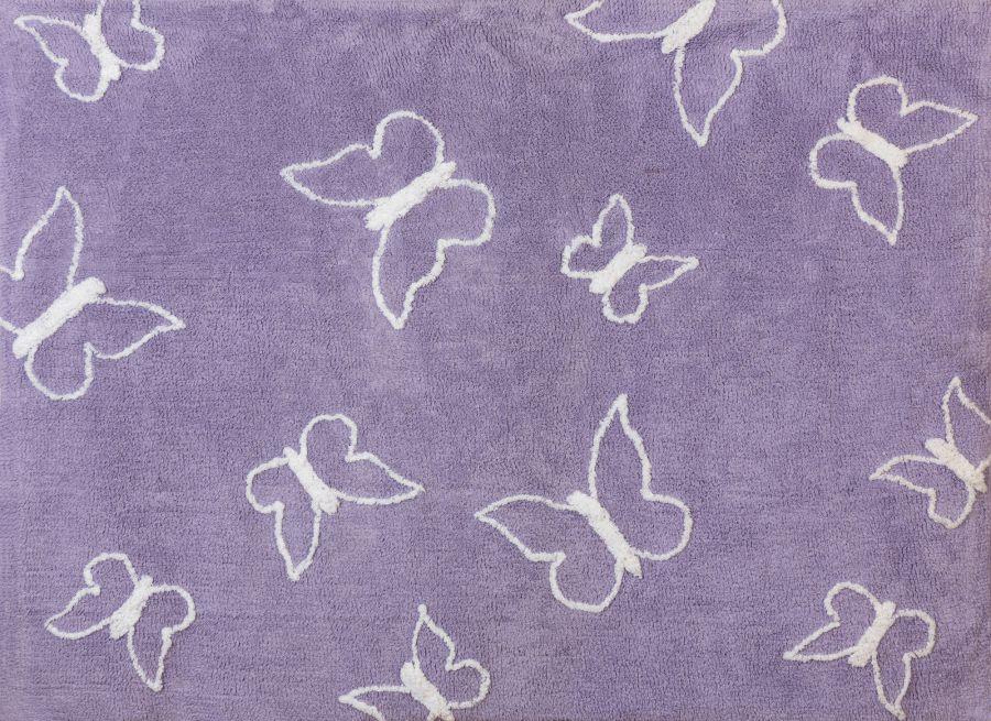tapis papillon lili pouce