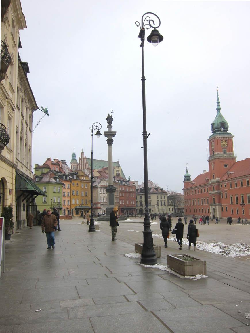 Varsovie - le château