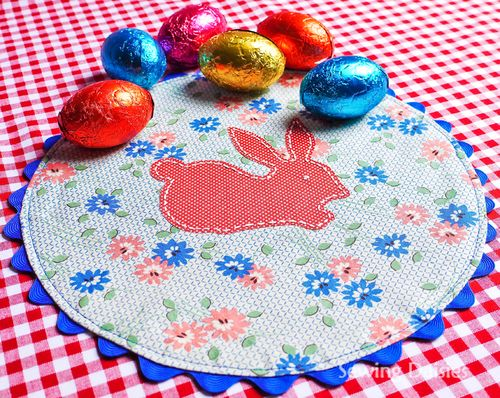 TUTORIAL: QUICK & EASY BUNNY MATS