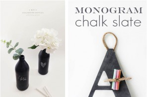 DIY chalkboard paint ideas
