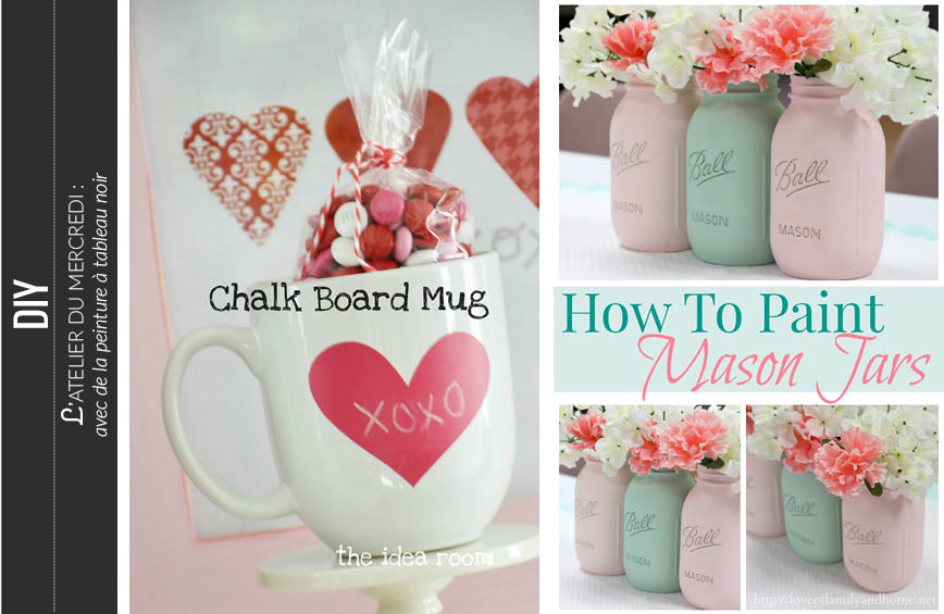 diy chalkboard paint ideas gifts