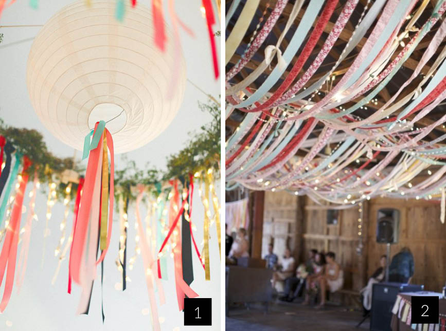 Diy avec des rubans - Decoration mariage diy ...