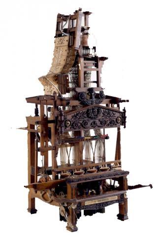 Métier à tisser les rubans à 4 pièces - Musée d'Art et d'Industrie de Saint-Etienne
