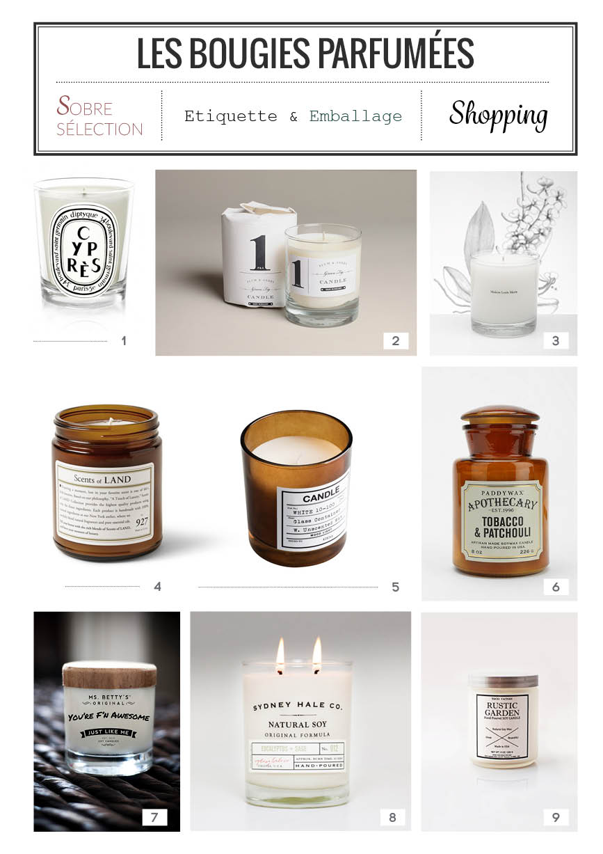 les bougies parfum es. Black Bedroom Furniture Sets. Home Design Ideas