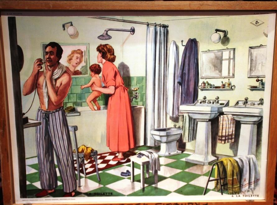 La toilette // editions Rossignol