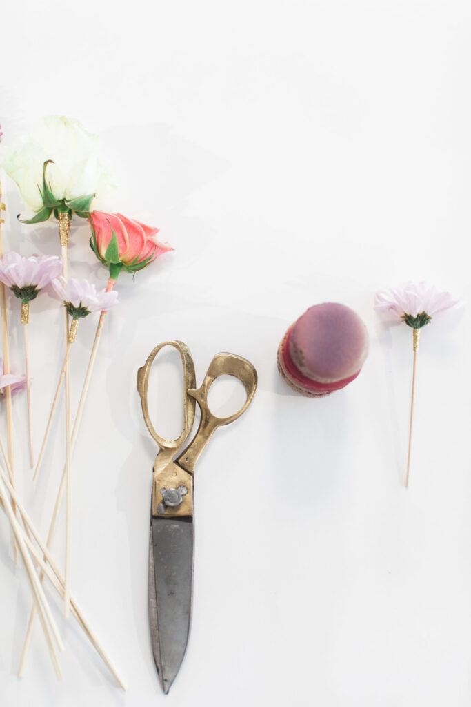 DIY-Fresh-Flower-Sticks-stylemepretty