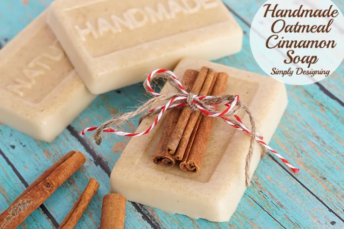 Handmade-Oatmeal-Cinnamon-Soap-Gift