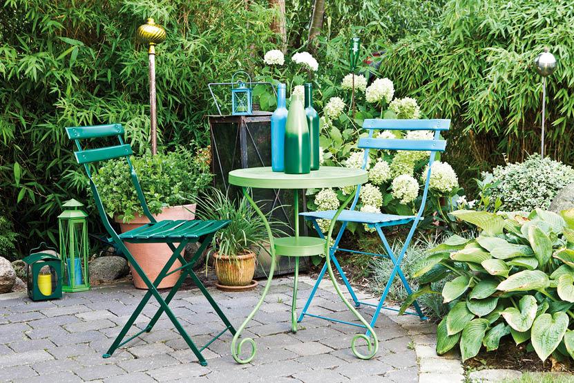 Peindre les meubles de jardin for Ameublement jardin