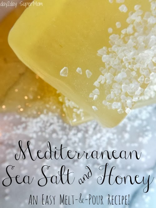 Mediterranean Sea Salt & Honey Soap