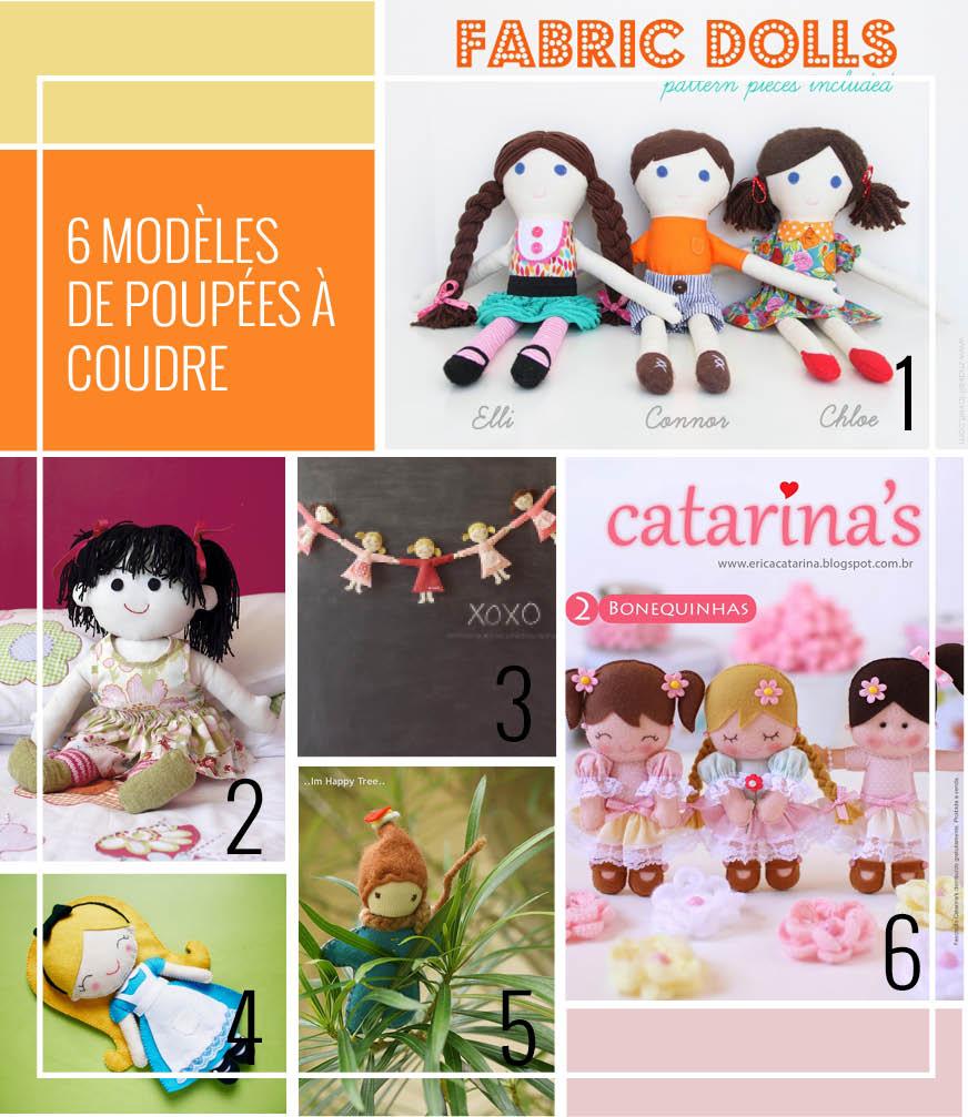 Patrons de poupées - Doll sewing patterns