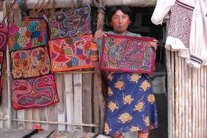 Kuna Woman With Molas