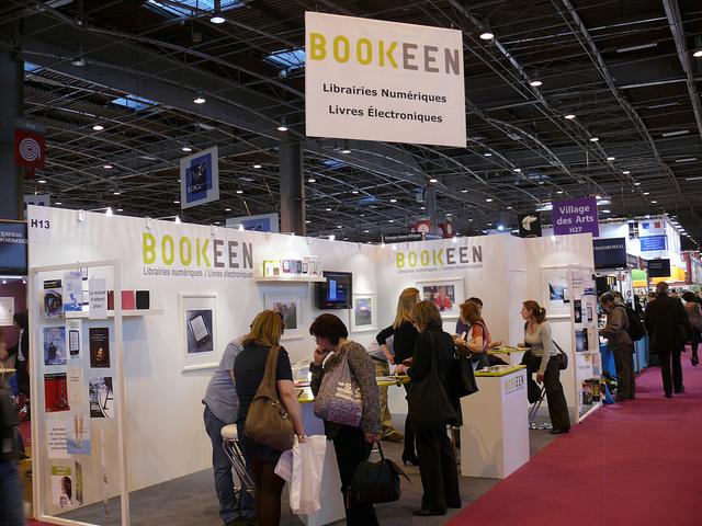 bookeen lecteur ebooks