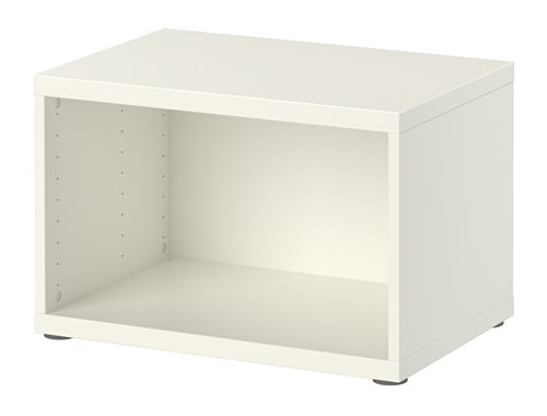 besta-structure-blanc // Ikea